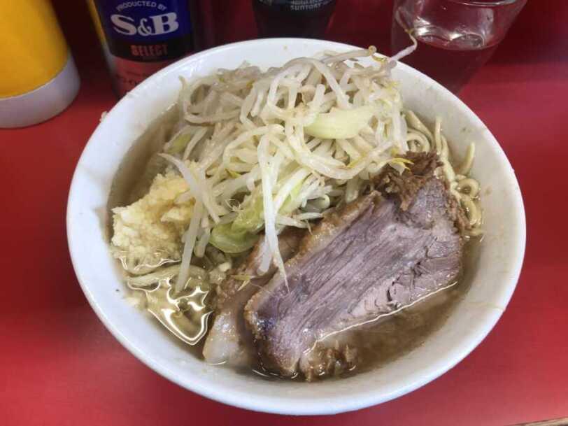 ラーメン二郎三田本店ラーメン